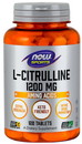 NOW 0116 L-Citrulline, Extra Strength 1200 mg - 120 Tablets