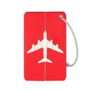Aluminum Metal Luggage Tags & Bag Tag Stainless Steel Loop