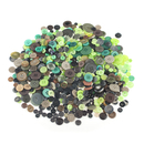 Aspire 660 PCS Resin Buttons for Kids DIY Crafts Decoration, Various Colors 2 Holes 4 Holes