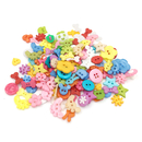 Aspire 400 PCS Mixed Plastic Buttons Lot for Sewing Scrapbooking and DIY Handmade
