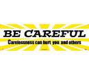 NMC BT20 Be Careful Banner