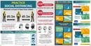 NMC BT65 Pract Social Dist., Covid-19 Multi Message Banner, Eng/Span