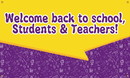 NMC BT76 Welcome Back To School Banner