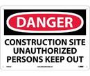 NMC D492 Danger Construction Site Sign