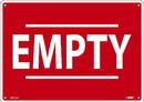 NMC M971 Red Empty Sign