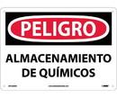 NMC SPD239 Danger Chemical Storage Area Sign - Spanish