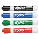 NMC WBM2 Expo Bullet Tip Marker Set, 4 Pk, OTHER, 4.75
