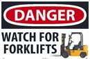 NMC WF07 Danger Watch For Forklifts