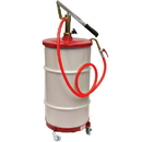National Spencer Gear Lube Pump W/ Hose, Dolly & Cover For 16 Gallon Drum