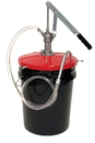 Zee Line 321-WMF Lube pump with meter & fittings for 5 - 6-1/2 gallon pail