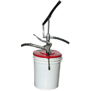 National Spencer Hand-Operated Grease Pump W/ Hose & Follower Plate For 25-50 Lb. Pail