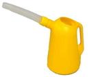 ZeeLine 757AR 5 quart polyethylene measure w/ flexible spout - Bulk pack