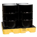 ZeeLine 784 4-Drum Spill Pallet w/66gal-Capacity