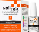 Nail Tek 55808 Intensive Therapy 2 Pro Pack - 4/0.5 Oz, Pk