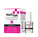 Nail Tek 55810 Protection Plus 3 Pro Pack - 4/0.5 Oz, Pk