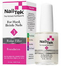 Nail Tek 55816 Ridge-Filling Strengthening Base Coats Foundation 3 For Dry, Brittle Nails