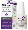 Nail Tek 55817 Ridge-Filling Strengthening Base Coats Foundation Xtra 4 For Weak, Damaged Nails