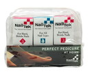 Nail Tek 55828 Pedicure Foundation 3, Protection Plus 3, Renew-3Pc, Kit