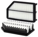 Wix Filters 49022 Air Filter; Oem Replacement; White; Fiber; Panel; 10.15 Inch Length X 5.74 Inch Width X 5.74 Inch Height
