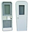 AP Products 015-2014762 RV Entrance Door Window Frame - Black