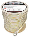 Extreme Max 3006.2376 BoatTector Premium Double Braid Nylon Anchor Line with Thimble - 1/2