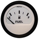 Faria 12901 Euro Fuel Level Gauge - White 2