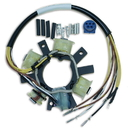 CDI Electronics 173-1651 Johnson/Evinrude Stator - 2 Cyl. 5 Amp (1977-1999)