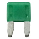 WirthCo 24130 MinBlade Fuse - 30 Amp (Green), Pack of 5