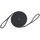 Extreme Max 3006.2412 BoatTector Premium Double Looped Nylon Dock Line for Mooring Buoys - 40', Black