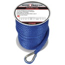 Extreme Max 3006.2705 BoatTector Solid Braid MFP Anchor Line with Thimble - 3/8