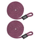 Extreme Max 3006.2344 BoatTector Solid Braid MFP Fender Line Value 2-Pack - 3/8