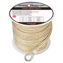 Extreme Max 3006.2347 BoatTector Premium Double Braid Nylon Anchor Line with Thimble - 3/8