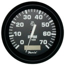 Faria 32840 Euro Tachometer Gauge 7000 RPM with Hourmeter (Gas) - 4