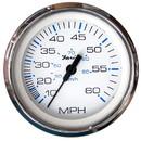 Faria 33811 Chesapeake Pitot Speedometer - White 4