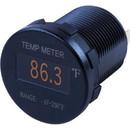 Sea-Dog 421610-1 Round OLED Temperature Meter - 1-7/16