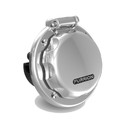 Furrion 432823 30A Round LED Inlet - Stainless Steel