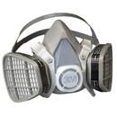 3M 5201 Half Facepiece Disposable Respirator Assembly - Organic Vapor, Medium