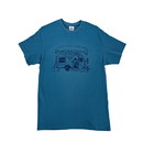 Camco 53286 T-Shirt - XXL, Blue Trailer Print Life Is Better