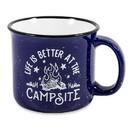 Camco 53387 Ceramic Mug - 14 Oz., Campfire Design