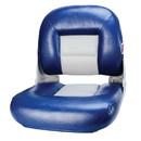 Tempress 54672 Navistyle Low-Back Boat Seat - Blue/Gray