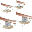 Tie Down Engineering 59307 Xi2 Concrete Mobile Home Foundation System - Dry Set