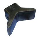 "C.H. Yates Rubber Molded ""Y"" Bow Stop - 3"" x 3"", 6Y33-4"