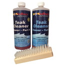 Sudbury 860KIT Tip Top Teak Part A & B Cleaner Kit With Brushes
