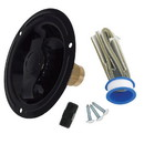Valterra A01-0178LFVP Recessed Water Inlet - FPT, Black (Carded)
