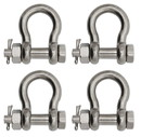 Extreme Max 3006.8387.4 BoatTector Stainless Steel Bolt-Type Anchor Shackle - 7/8