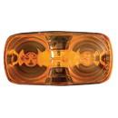 Optronics MC42AS Amb 2 Bulb Bullseye Clrnc/Mrkr