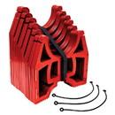 Valterra S1000RLO Slunky Hose Support - 10' Low, Red