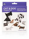 NPW NP32024 Cat & Dog Origami