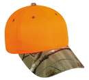 Outdoor Cap 202IS Blaze with Camo Visor