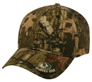 Outdoor Cap 360MO Camo with Visor Logo